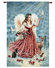Christmas Angel Grande Tapestry Wall Hanging ~ Dona Gelsinger