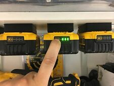5x Black DeWALT XR BATTERY MOUNTS great for Tough System Shelves Racks Case Van