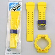 ORIGINAL CASIO G-SHOCK REPLACEMENT BAND & BEZEL for GA110A-9 GA-110A-9, YELLOW