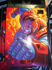 CARTE MARVEL MASTERPIECES GOLD FOIL SERIES 1994 N° 109 SIEGE MINT CARD (BASE)