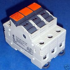 WEIDMULLER 30A 600V 3 POLE FUSEHOLDER WSI 25/3 CC/LED