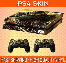 PS4 Vinile Autoadesivo DOOM stile