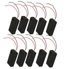 10pcs New 3V Holder Storage Box Case for 2X AA 2A Battery w/ On/Off Switcher DIY
