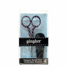 """Gingher Designer Series Wren Embroidery Scissors 4"""", Collectable item"""