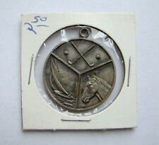 Vintage Fishing Golf Sailing Pendant Medallion Estate