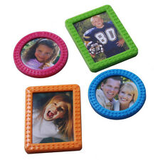 4-Pack Magnet Picture Photo Frame Magnetic Clip for Refrigerator Home Office