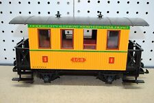 LGB 3006 Dodge City & Great Western RR Passenger Coach Car w/Box *G-Scale* #2