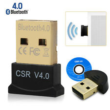 USB Bluetooth Dongle 4.0 CSR Wireless Adapter For Windows 7 8 10 XP Laptop PC