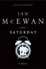 Saturday by McEwan (2005, Hrdbk in jacket) 1st US Ed. - Iraq War - Road Rage