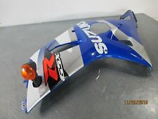 2001 2002 Suzuki GSXR1000 GSX-R 1000 Left Lower Fairing / Cowl & Turn Signal