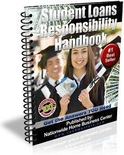 STUNDENT LOANS RESPONSIBILITY HANDBOOK PDF EBOOK FREE SHIPPING RESALE RIGHTS