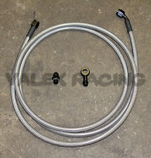 92-95 Civic 2dr Coupe Replacement Stainless Steel Fuel Feed Line Tank to Filter