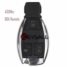 New with logo High Quality Remote Car Key Fob 433MHz for Mercedes-Benz BGA 2000+