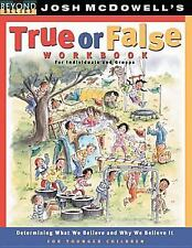 True or False Workbook: younger children (Beyond Belief Campaign)
