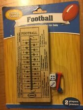 Football Travel Game - Great Table or Travel Game for Hours of Fun!