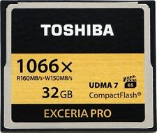 10 x TOSHIBA EXCERIA PRO 32GB 1066x CompactFlash HD High Speed Memory Card UDMA7
