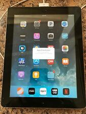 Used  iPad 2nd  A1395  Generation 2 32GB Black. DAMAGED SCREEN & SCRATCHES.