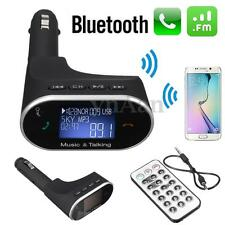 LCD Wireless Bluetooth Auto Kit FM Trasmettitore MP3 Lettore USB SD +Telecomando