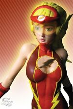 DC Direct Ame-Comi Jesse Quick as The Flash 8 Inch PVC Statue Rare & VHTF