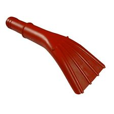 """Vacuum Nozzle, Claw Style,  Red 1 1/2"""" Carpet Vac Cleaning Hose  Made in USA"""