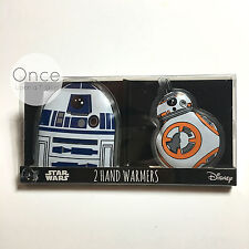 STAR WARS R2D2 and BB-8 Winter Gel HAND WARMERS Heaters From Priamrk