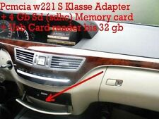 Mercedes COMAND Micro 2GB SD PCMCIA Adapter + USB Cardreader bis 32 Gb W221 S Kl