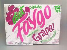 Faygo Diet Grape Soda 12 pack