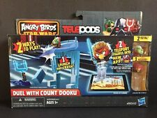 """Hasbro Angry Birds Star Wars Telepods """"Duel with Count Dooku"""" Playset"""