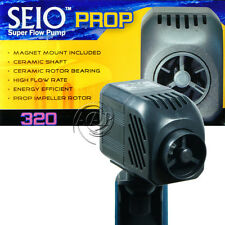 Seio (Taam) Model 320 Aquarium Propeller Circulation Pump 320gph, Magnet Mount