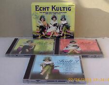 Echt Kult Kultig 2  3 CD Box Die besten deutschen Schlager der 60er und 70er 100