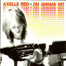 ☆ CD Single Axelle RED J'ai jamais dit Promo 1 Track  ☆