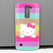 For LG K10 Hello Kitty Phone Case Cover Free Screen Protector