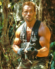 Arnold Schwarzenegger as Major Alan Dutch Schaefer in Predator 10x8 Photo