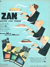 PUBLICITE ADVERTISING 115  1960  ZAN le petit pain