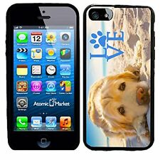 Golden Retriever With Love Paw For Iphone 6 Case Cover By Atomic Market