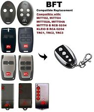 BFT MITTO-2, MITTO-4 Compatible Replacement Rolling Code Remote Control