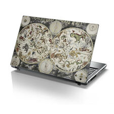 "TaylorHe da 15,6 ""LAPTOP Vinile Adesivo Decalcomania Old School mappa e zodiacs 2160"