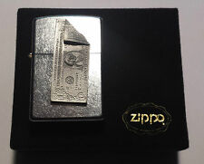 Zippo One Dollar Note D 2002 brushed chrome Made in USA