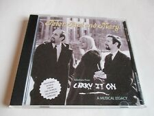 PETER PAUL & MARY CARRY ON CD SAMPLER SELECTIONS FROM THE BOX SET 10 TRACKS NEW