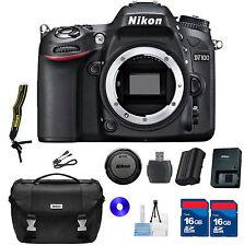 Nikon D7100 DSLR BODY ONLY KIT - WITH ORIGINAL NIKON UTILITY BAG