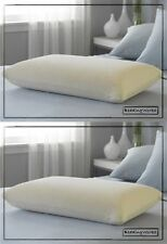 Visco Elastic Memory Foam Pillow Pair [2 Pack] **Free Pillow Protectors**