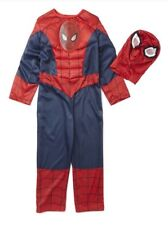 New Movie Spiderman Costume With Mask  age 3/4 years muscle outfit