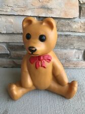Vintage Union Products Brown Christmas Teddy Bear Blow Mold! Lighted Outdoor17""