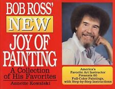 """""""Bob Ross New Joy of Painting"""" Oil Color How to Book"""