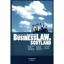 Business Law in Scotland, Cross, Stuart, Chalmers, James P., Bisacre, Josephine,