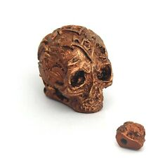 Skull Cigar Box Guitar Control Volume Tone Knob Gold Colour