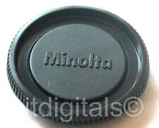 Body Cap For Minolta MD MC Slr X-700 101 201 202 Srt Safety Dust Glass Cover