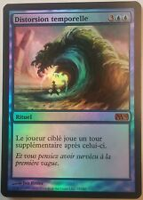 Distorsion Temporelle M10 PREMIUM / FOIL VF - French Time Warp - Magic mtg