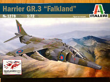 "Italeri 1:72 Harrier GR.3 ""Falkland"" Aircraft Model Kit"