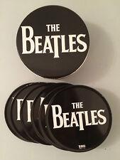 THE BEATLES COLLECTABLE 6 COASTER SET IN A TIN BOX